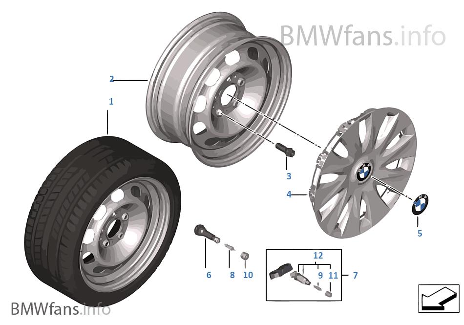 鋼製盤式輪輞 式樣 12 - 16''
