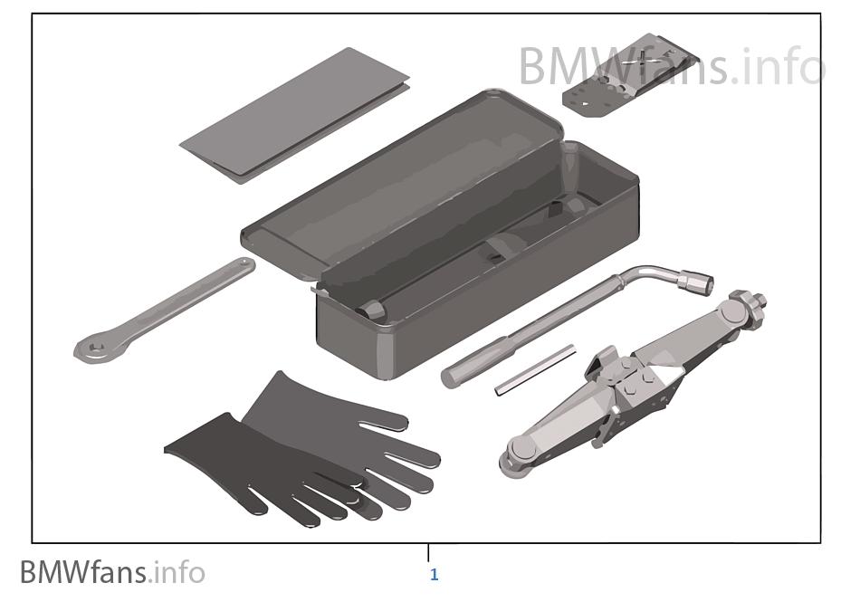 wagenheber set bmw x1 e84 x1 18i n46n indonesien. Black Bedroom Furniture Sets. Home Design Ideas