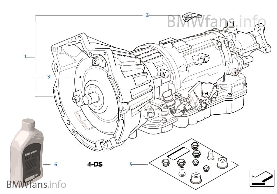 Boite Automatique A4s310r Bmw 3 E46 318i M43 Philippines
