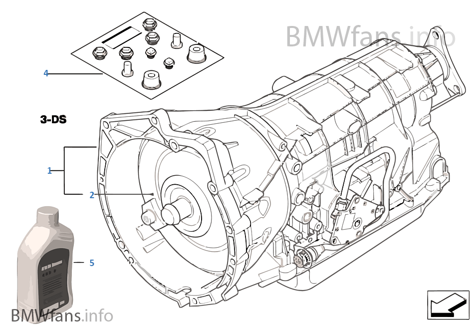 dqnt automatic transmission a5s325z bmw 3' e46 330i m54 europe bmw e46 transmission diagram at gsmx.co