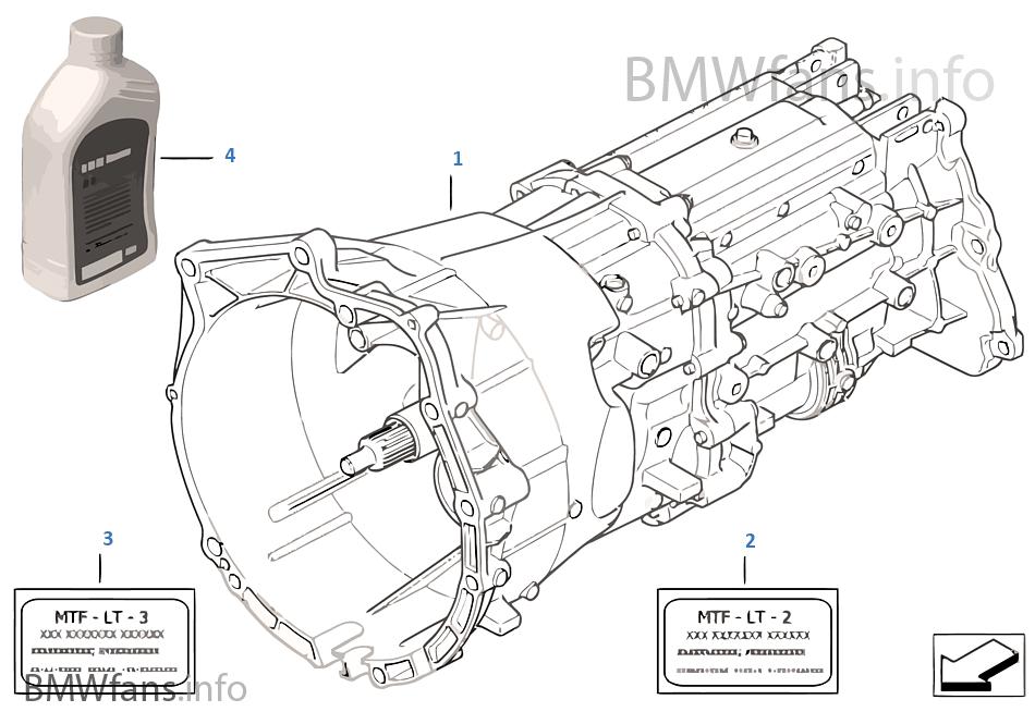 เกียร์ธรรมดา GS6X37BZ/DZ - ขับฯสี่ล้อ