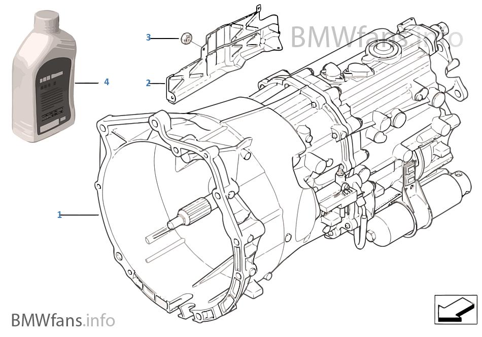 手動變速箱 GS6S37BZ (SMG)