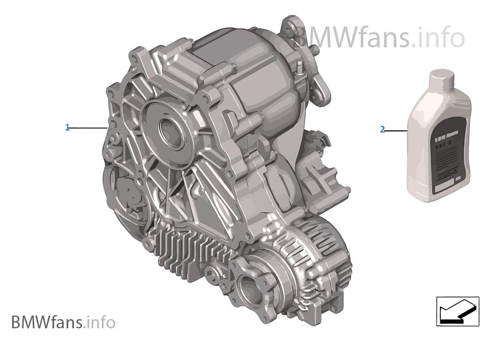 Transfer Case Atc 300 Bmw 5 E60 Lci 530xd M57n2 Europe