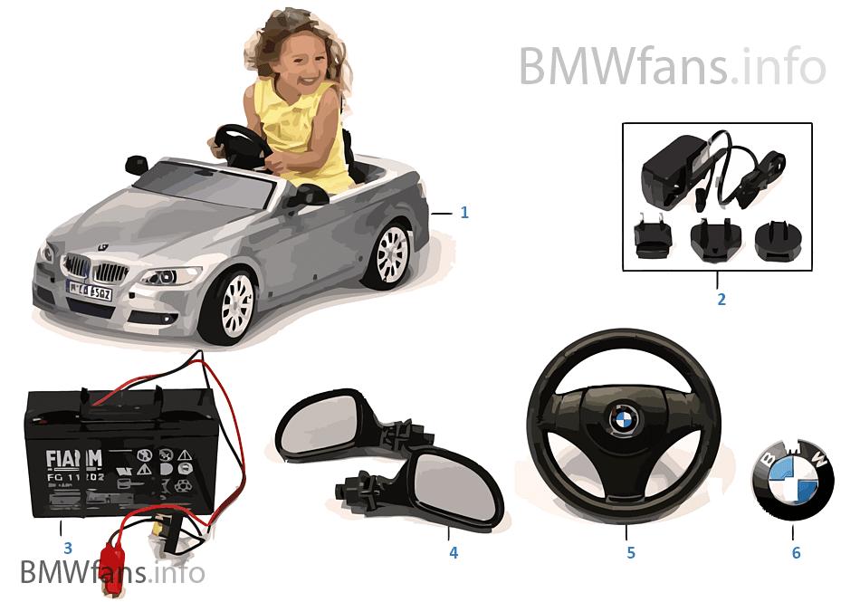 BMW náhradní díly — řada3 Cabrio6V