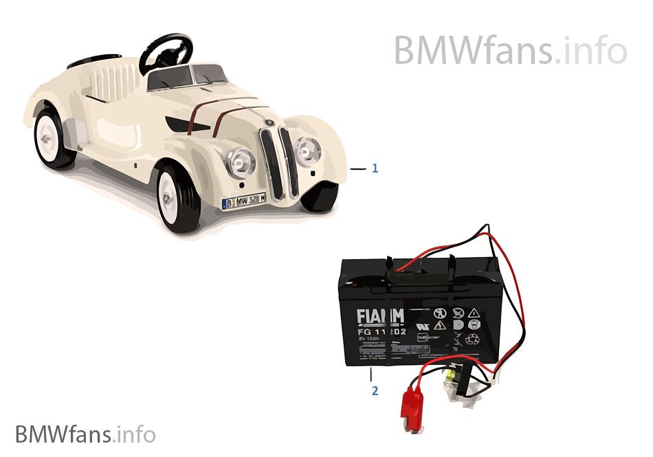 BMW 交換部品 -328 Roadster Elektro 6V