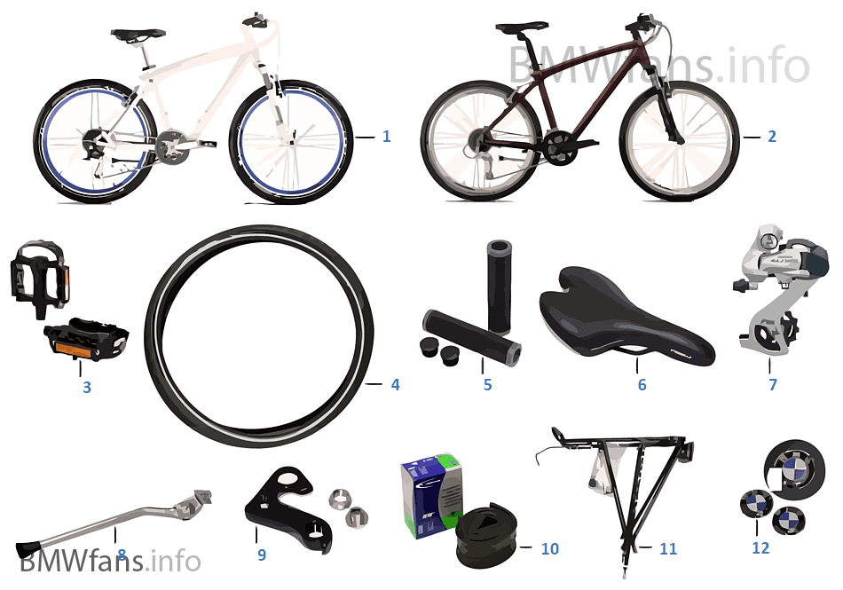 bmw ersatzteile cruise bike ii bmw accessories catalog. Black Bedroom Furniture Sets. Home Design Ideas