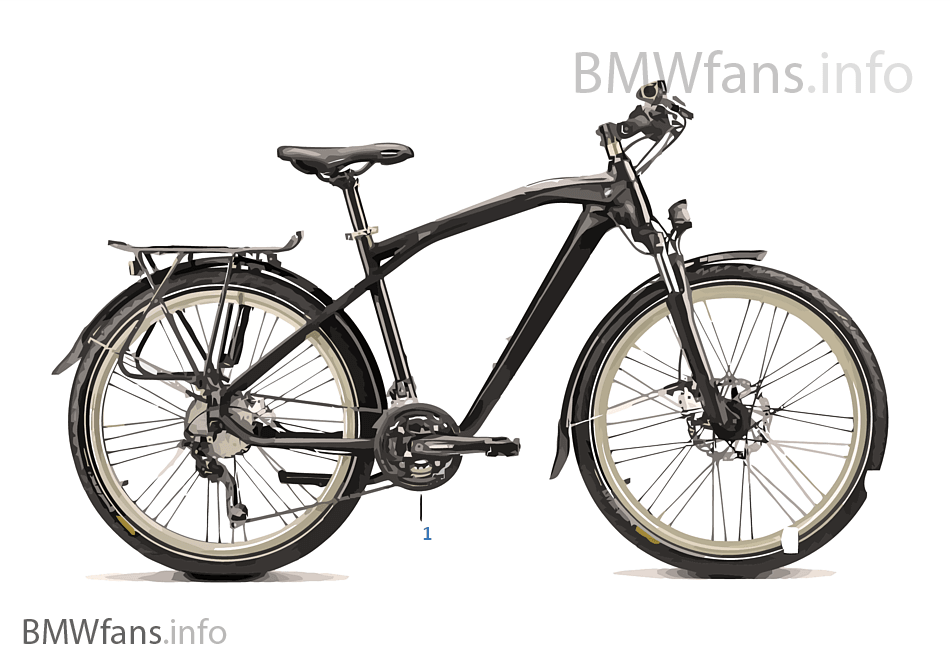 BMW Bikes & Equipment - Trekking Bike 14