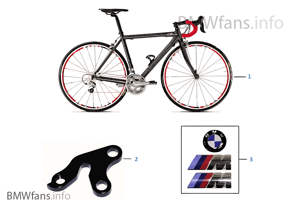 Запасные части BMW — M Bike