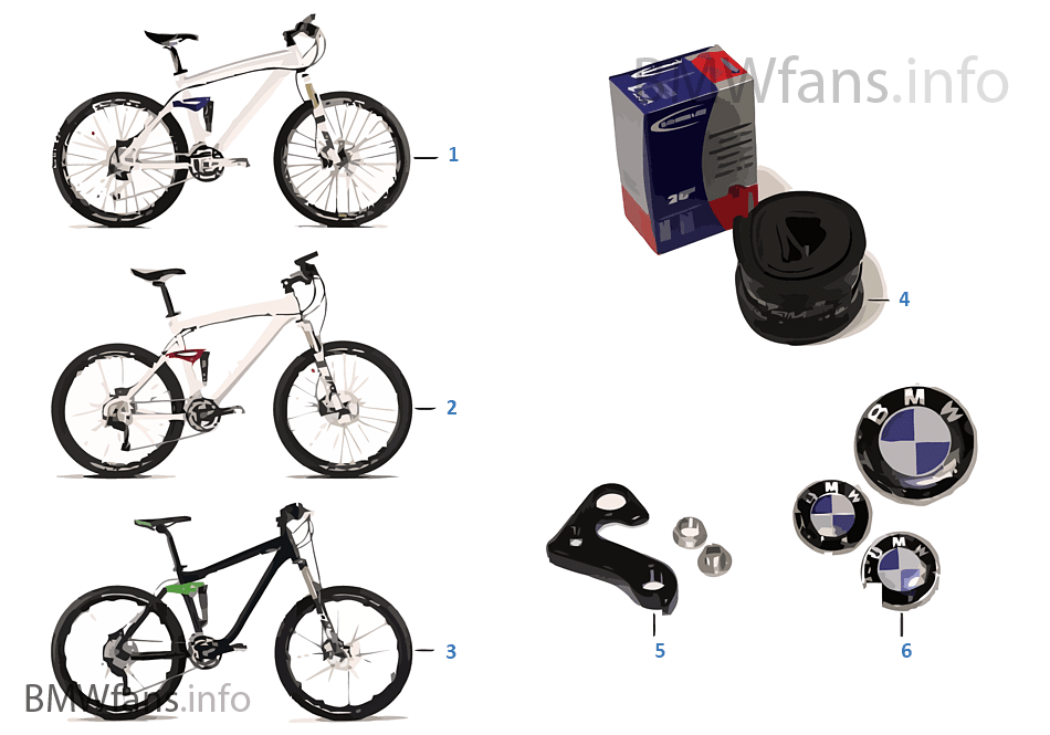 BMW 交換部品 - MTB CC XT All Mountain
