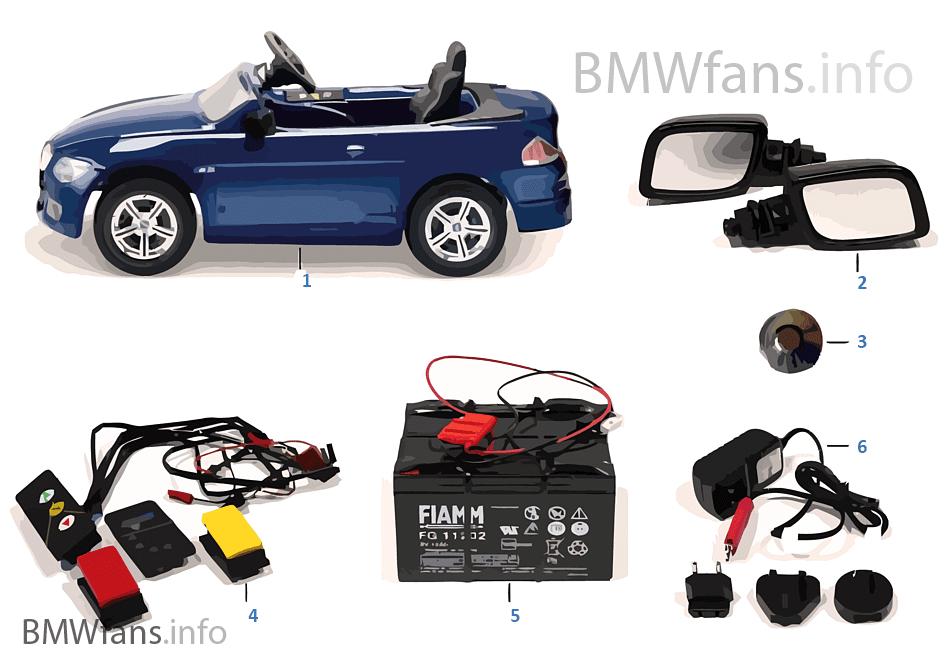BMW náhradní díly — M6 Cabrio 12V