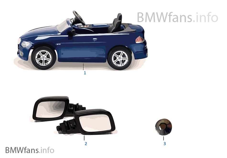 BMW náhradní díly — M6 Cabrio pedál