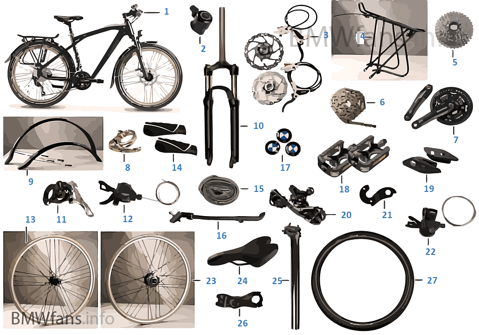 Recambios BMW — Trekking Bike 2014