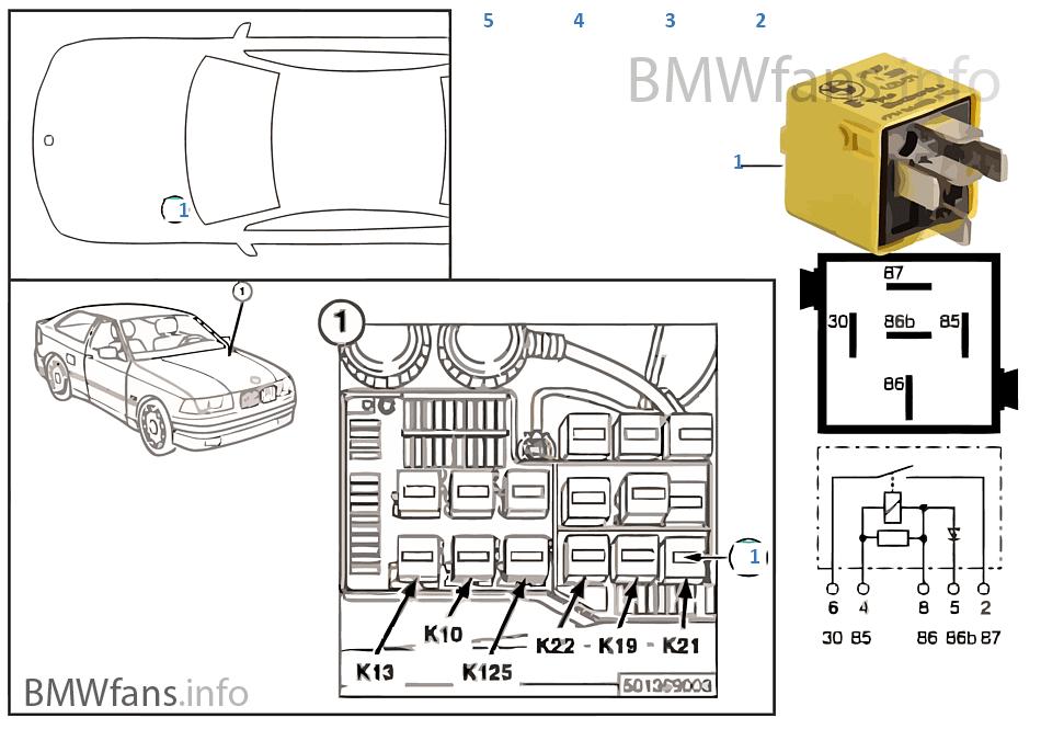 Bmw E46 Auxiliary Fan Relay Wiring Diagram Bmw E30 Relay