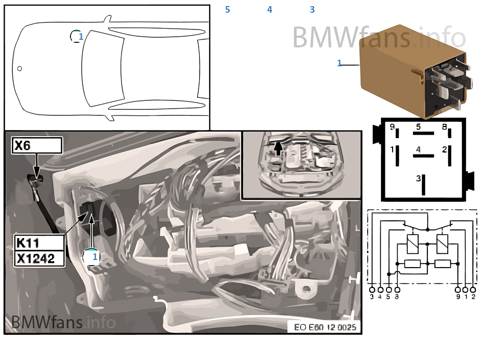 e60 bmw fuel pump relay location wiring diagram pictures. Black Bedroom Furniture Sets. Home Design Ideas
