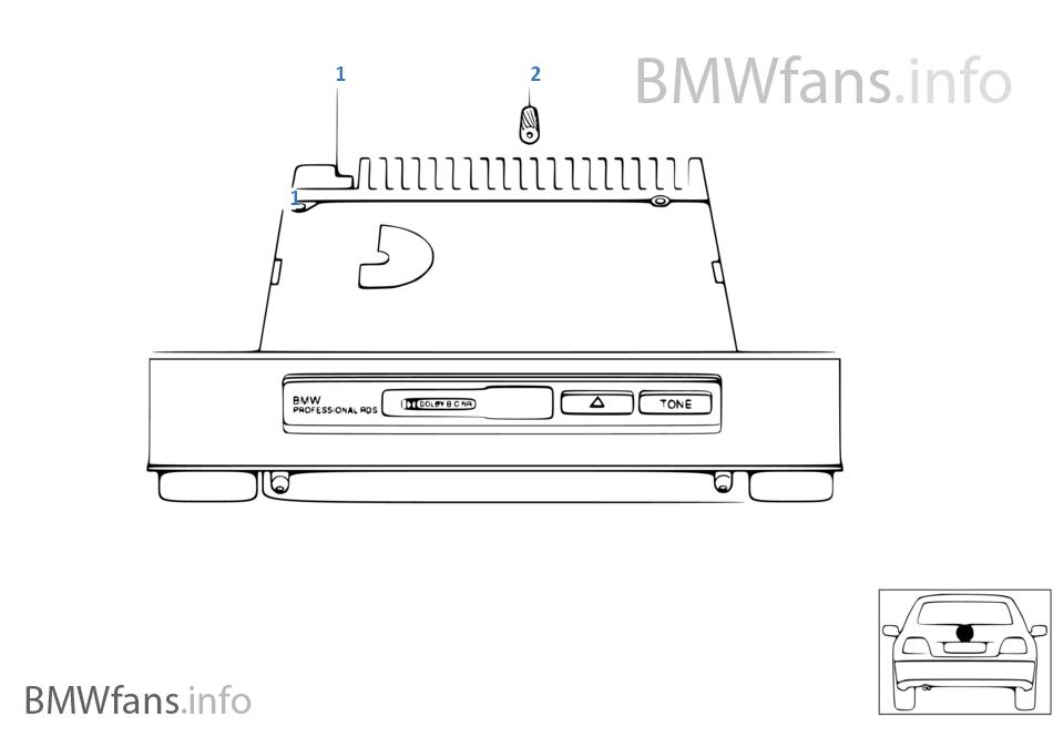 라디오,BMW Professional,RDS