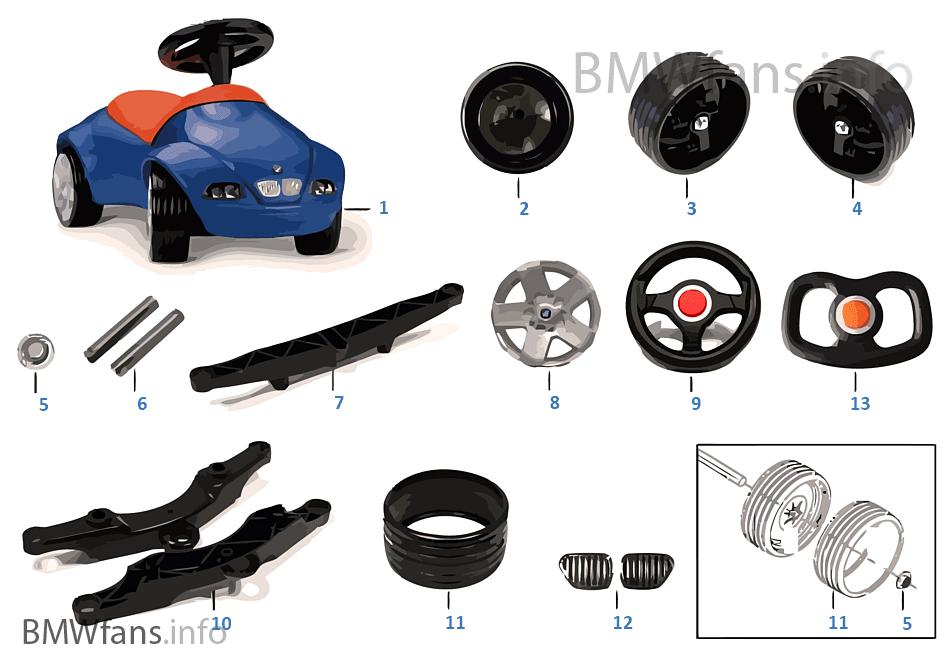 bmw ersatzteile baby racer ii bmw accessories catalog. Black Bedroom Furniture Sets. Home Design Ideas