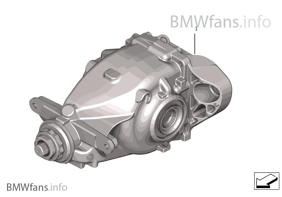 Mechanical Self Locking Differential Bmw 3 F30 335i N55 Usa