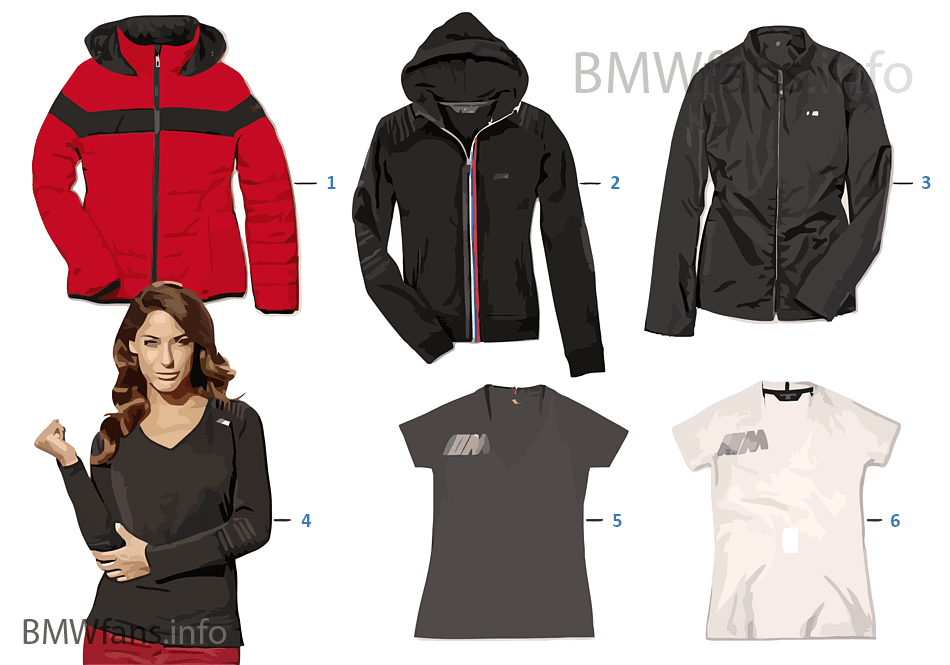 Catalogus Kleding Dames.Bmw M Collection Dames Kleding 14 16 Bmw Accessories Catalogus