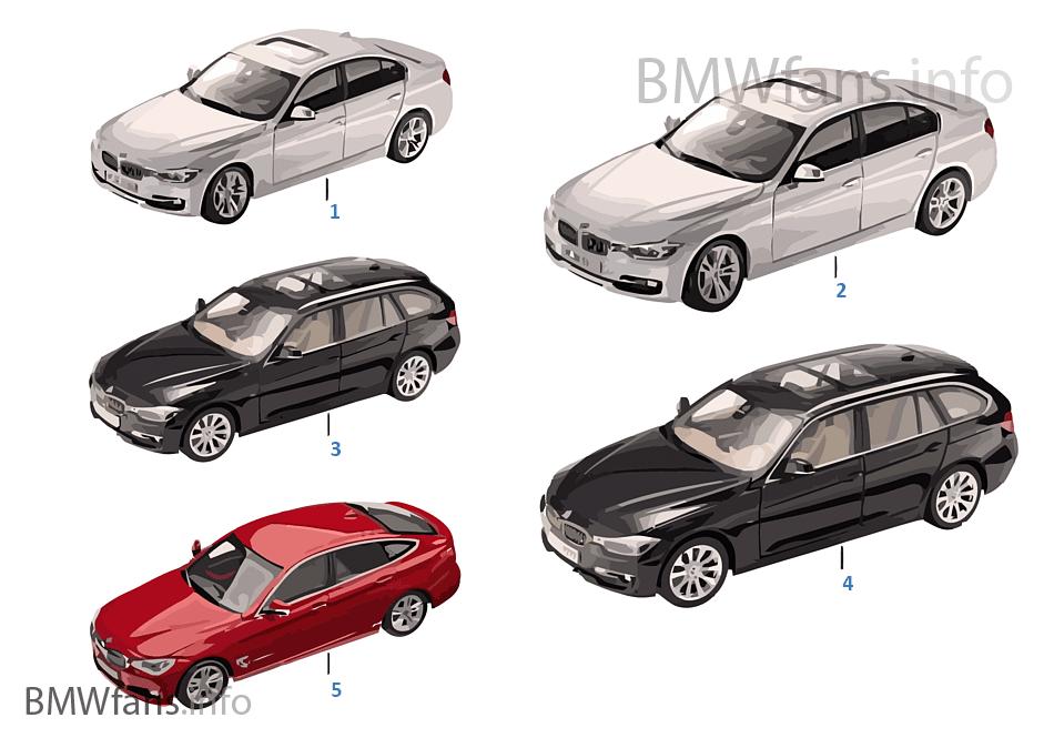 BMW ミニチュア-BMW 3er 標準仕様 14/16