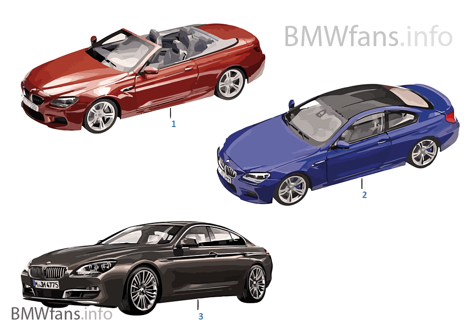 bmw miniatures bmw 6 series 14 16 bmw accessories catalog. Black Bedroom Furniture Sets. Home Design Ideas