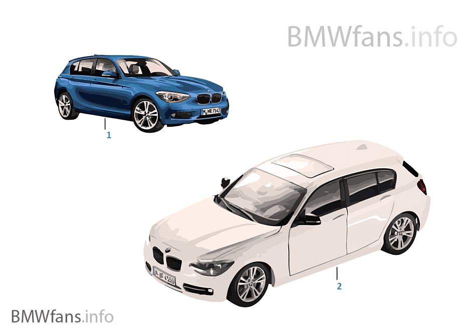 BMW ミニチュア-BMW 1er 標準仕様 14/16