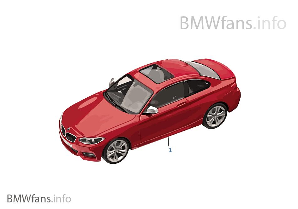BMW ミニチュア-BMW 2er 標準仕様 14/16