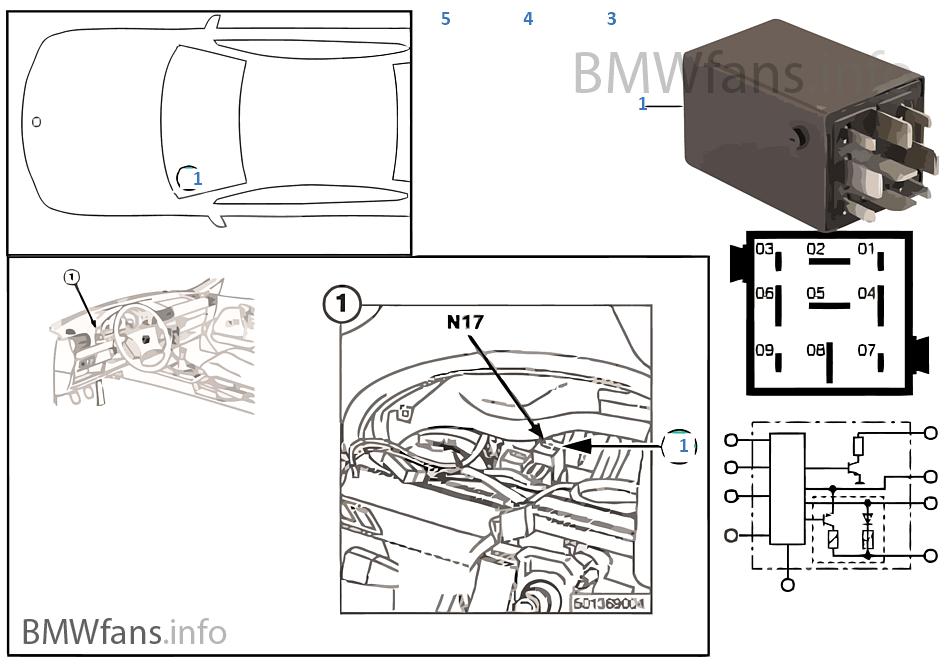 Relais Crash-Alarm N17