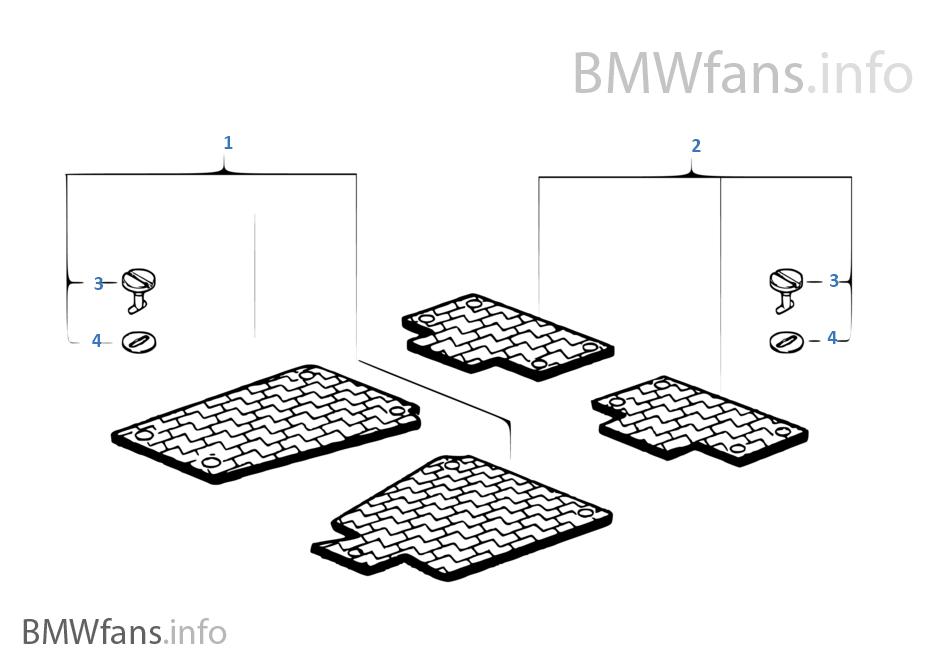 do e53 floor mats fit the e70  - bimmerfest