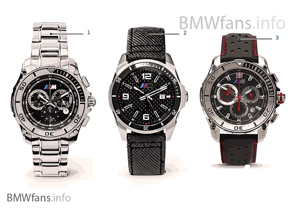 BMW onderd. — M horloges 13/14 en 14/16