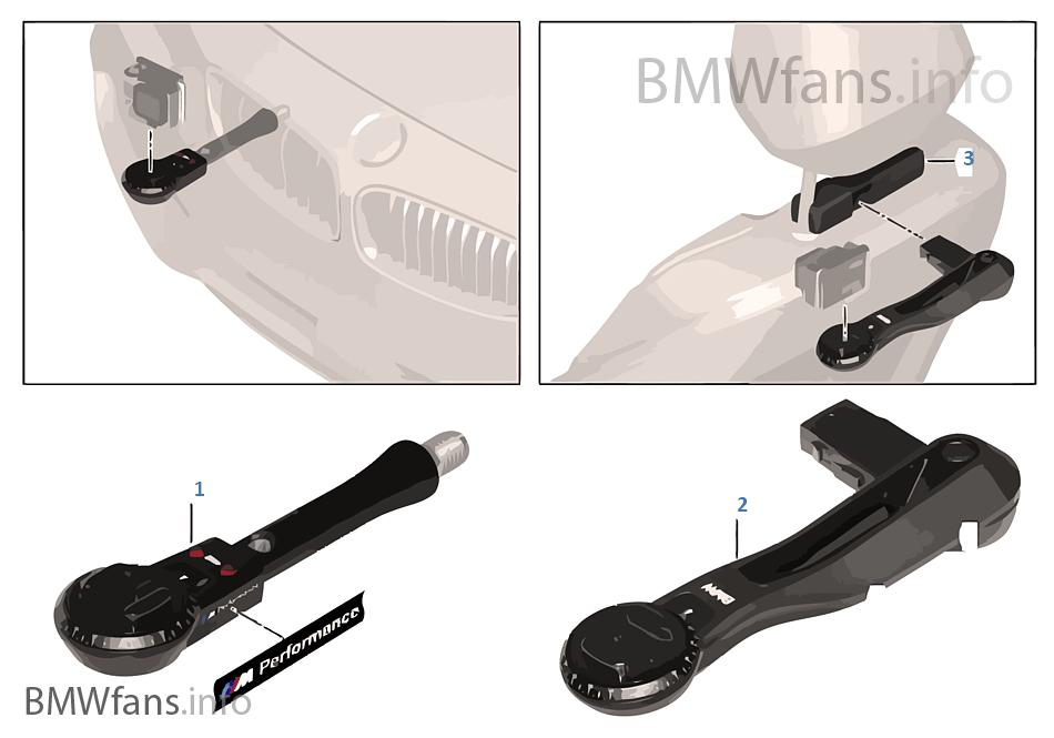 Uchwyt BMW Action-Cam