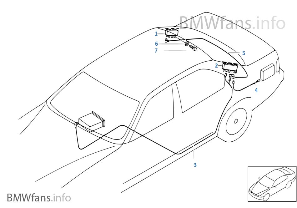 Bmw E38 Parts Diagram
