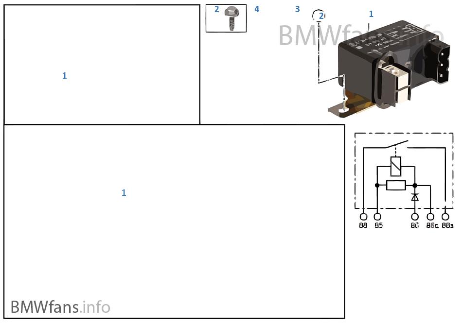 Relais batterijuitschakeling