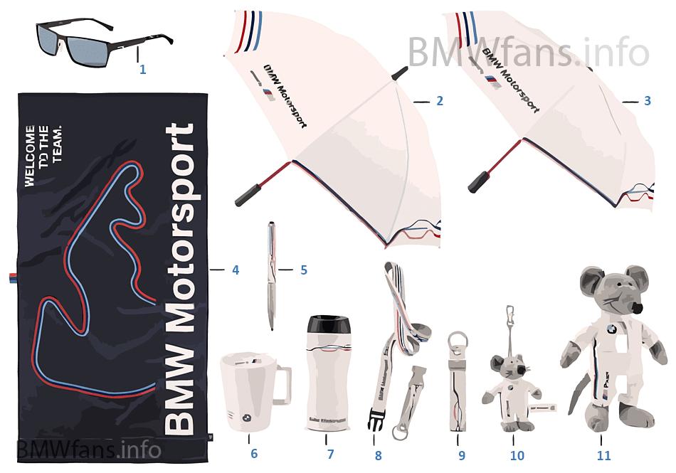 BMW Motorsport - アクセサリー 2015/17