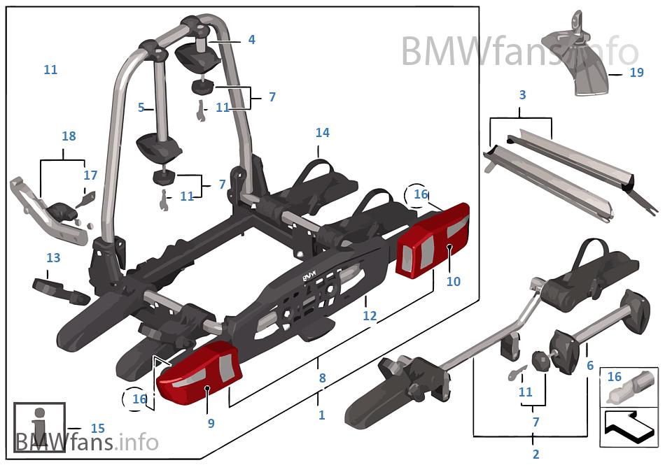 Porte-vélo arrière Pro