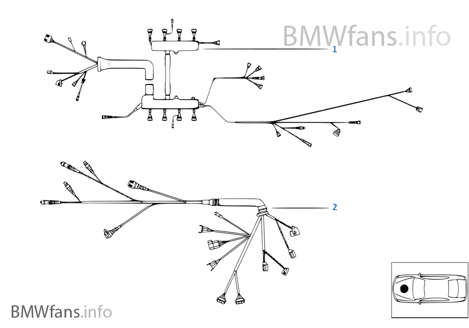 Engine Wiring Harness Bmw X5 E53 46is M62 Europerhbmwfansinfo: Bmw M62 Wiring Diagram At Gmaili.net