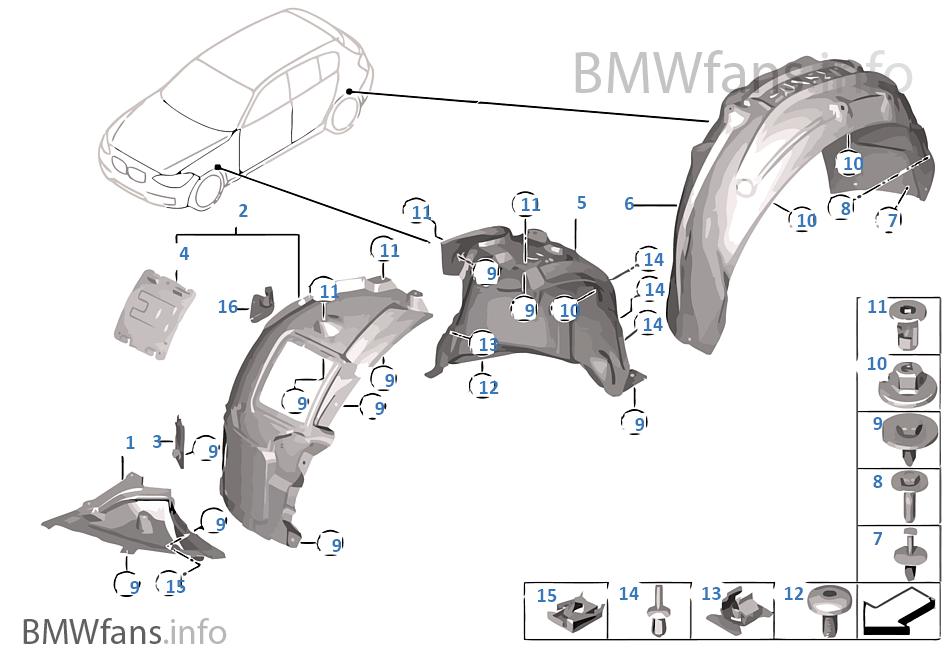 habillage du passage de roue bmw 1 39 f20 118d n47n l 39 europe. Black Bedroom Furniture Sets. Home Design Ideas