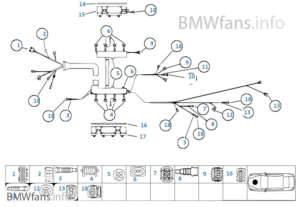 Parts, engine module wiring | BMW 5' E39 535i M62 Europe | Bmw M62 Engine Diagram 1998 |  | BMWfans.info