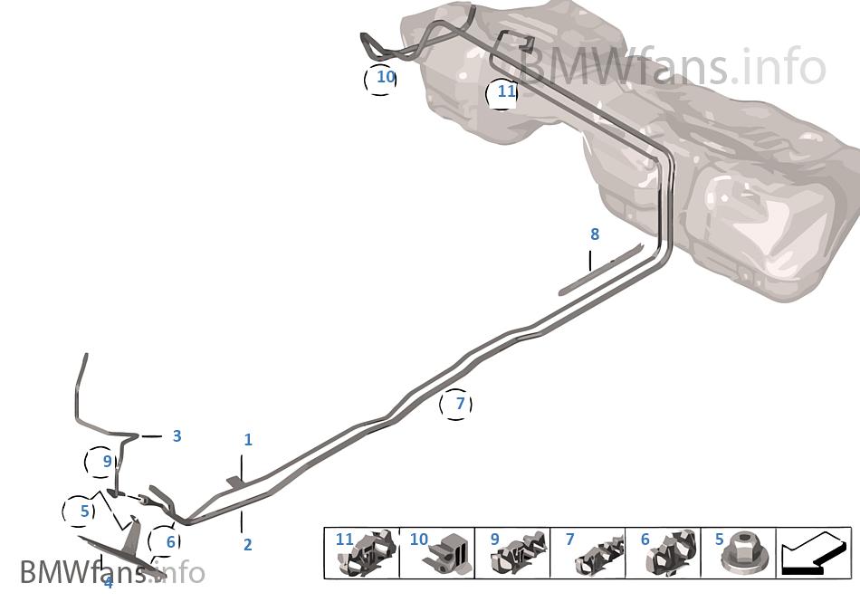 燃油管路 / 固定件