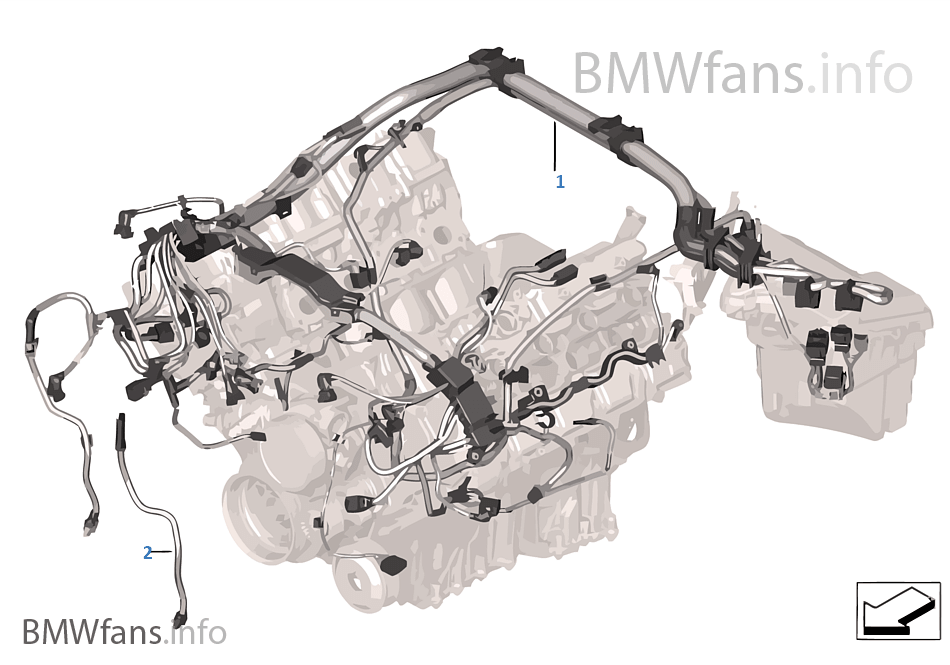 ftho engine wiring harness, engine module bmw x5 e70 x5 m s63 usa bmw wiring harness at crackthecode.co