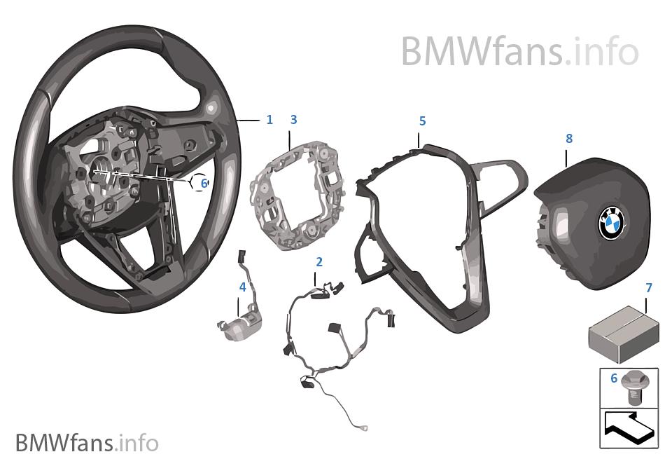 Sportstuurwiel airbag multifunct.