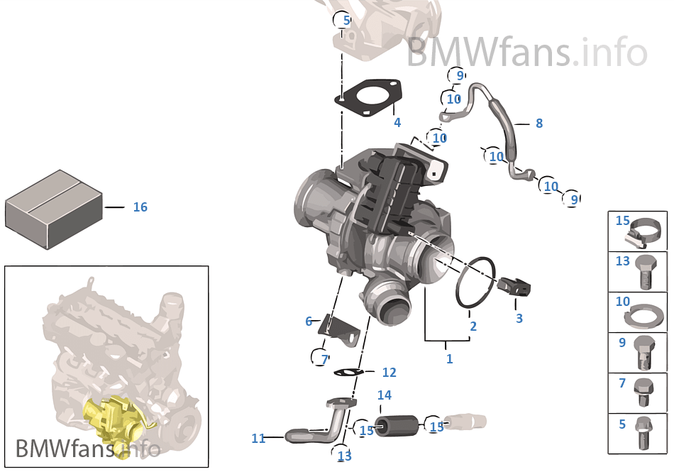 Turbo Charger With Lubrication: BMW N47 Engine Diagram At Anocheocurrio.co