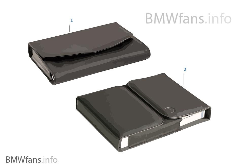 車載手冊盒 BMW 帶圓形衝壓槽