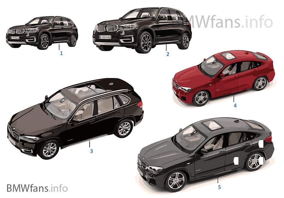 BMW ミニチュア - BMW X 標準仕様 14/16