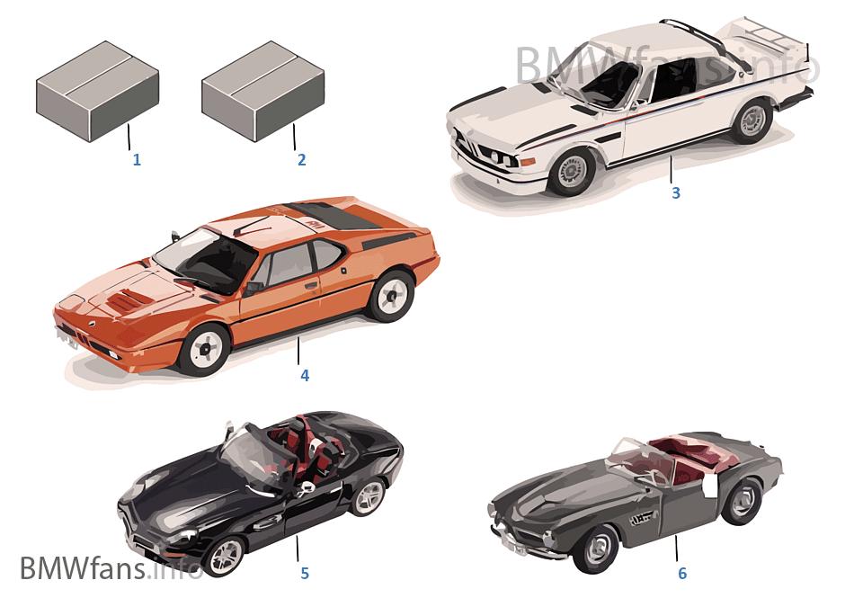 BMW ミニチュア 1:18 ヘリテージ コレクション