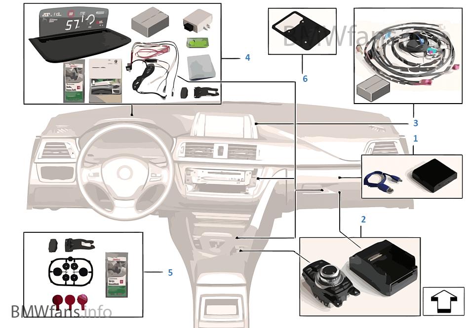 integrated navigation w head up screen bmw 5 39 f10 528i. Black Bedroom Furniture Sets. Home Design Ideas
