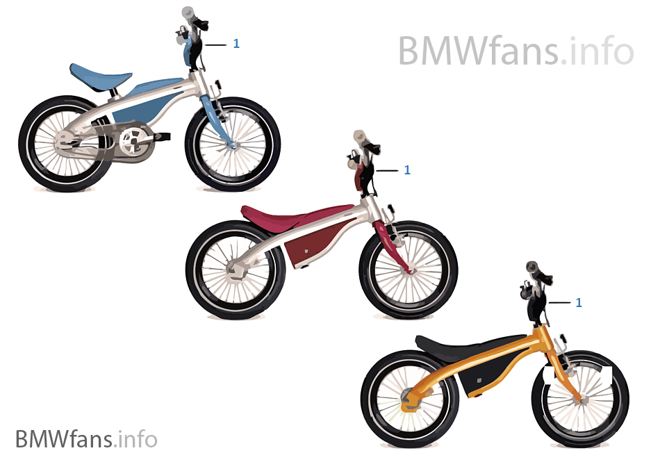 BMW děti — Kidsbike 14-16