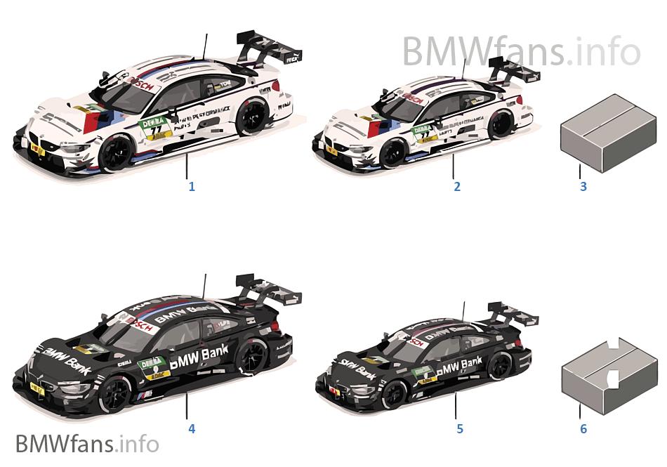 BMW miniatury — DTM 2015
