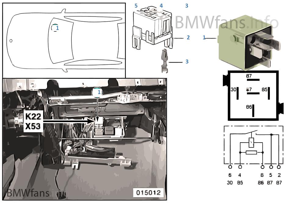 Relé ventilador adicional nivel 2 K22