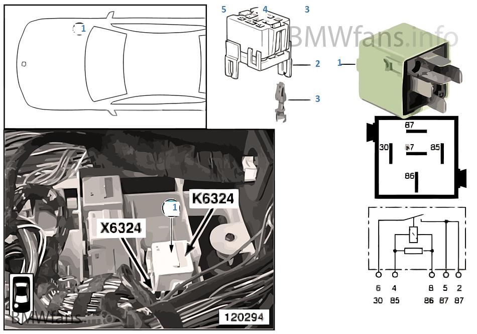 Relais For Starter K6324 Bmw X5 E53 30i M54 Usarhbmwfansinfo: 2001 Bmw X5 Starter Relay Location At Gmaili.net