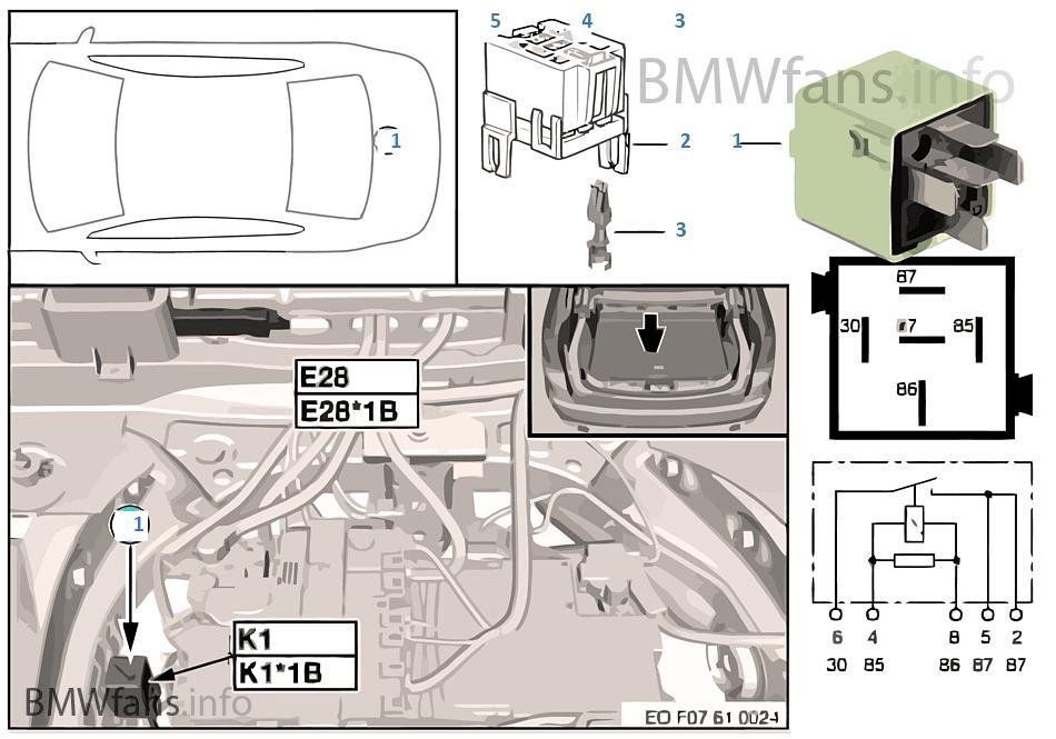 relay compressor for air suspension k1 bmw 5 f07 gt 535i n55 europe rh bmwfans info bmw x5 e70 air suspension diagram bmw e61 air suspension wiring diagram
